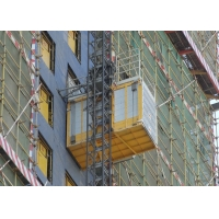 Buy cheap Construction Site 60M / Min Material Rack And Pinion Lift product