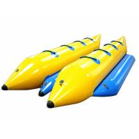 Buy cheap Yellow Waterproof PVC Inflatable Boat Excellent Peeling Material For Summer Toys product