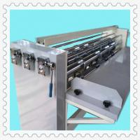 Buy cheap top speed semi-automatic carton packaging slitting creasing machine product