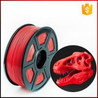 China Easthreed 0.25kg Pla 3D Printer Filament , Red 3D Printer Filament Simple Operation on sale