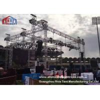 Buy cheap Non Rust Aluminum Light Truss , Sqaure / Triangle Theatre Lighting Truss Kit product