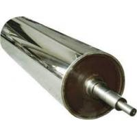 Embossing PVC Mirror Roller For Sheet Machne , Calendeing Machine