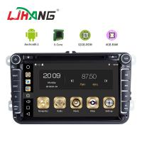 Buy cheap 4GB RAM Android Auto Double Din Volkswagen Golf Dvd Player Front Camrea Rear Camera product