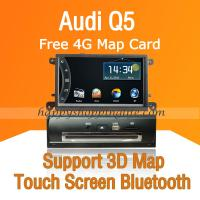 Buy cheap Audi Q5 DVD Navigation with Digital TV Touchscreen USB SD product