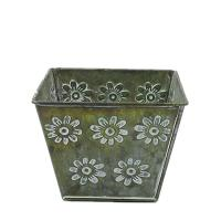 Buy cheap antiqued metal flower pot bucket for garden decoration product