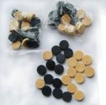Buy cheap wood checker 30pcs international wooden chess set wood backgammon product