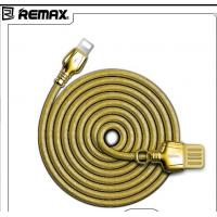 Buy cheap RC-063i Remax Orginal Stainless Steel Zinc Alloy USB Data Cable For Iphone 8 product