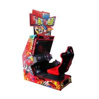 China Crazy Speed Twin Arcade Racing Game Machine , Amusement Commercial Arcade Machines on sale
