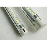 Buy cheap 700lm 24V Led Tube Light Fixtures T5 2ft 549mm 7W with Transparent Striped Fosted Cover product
