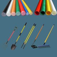 Buy cheap Fiber glass tube/pipe for post hole digger, post hole digger long fiberglass handle product