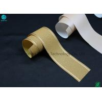 Buy cheap 33g Customized Tipping Base Paper With Hot Stamping Logo Pattern / Cigarette Filter Packaging product