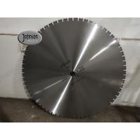 Buy cheap single u tooth, 1200mm Diamond Wall Saw Concrete Cutting Blades With Sharp Segments from wholesalers