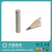 China High Performance Cylinder NdFeB Magnet / Permanent Magnetic Rod on sale