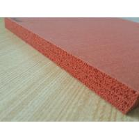 Buy cheap Double Impression Fabric Silicone Rubber Sheet Heat Insulation product