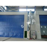 Buy cheap Larger Sandblasting Room Automatic Pneumatic Conveyor Burnishing Container Recycling product