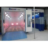 Buy cheap Workshop Full Down Draft Infrared Paint Booth Combined Prep Station Energy Saving product