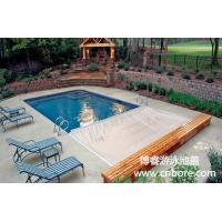Buy cheap High quality automatic safety swimming pool cover with track from China golden supplier product