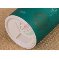Buy cheap Easy Opening Labeling Custom Salt Paper Can Packaging Tube With Shaker Top product