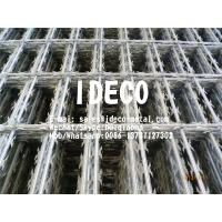 Buy cheap Rectangular Opening Welded Razor Blade Mesh Fencing, Straight Razor Wire Welded Mesh Panels, Barbed Fences product