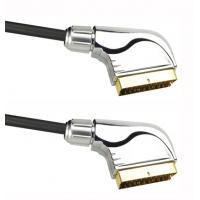 Buy cheap 21p scart cable with metal cover product