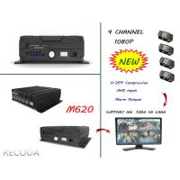 Buy cheap RECODA M620 4 Channel 1080P full hd car dvr Support 3G , 4G , WIFI , GPS from Wholesalers