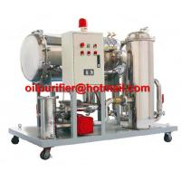 Buy cheap Light Fuel oil purifier, Gasoline Oil Dehydration filteration remove particles 50% water, Diesel Oil Water Separator product