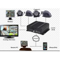 Buy cheap 720P Resolution hybrid SD Card Mobile Vehicle DVR with 3G / 4G GPS WIFI product