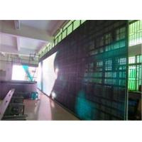 Buy cheap Rental Slim BIG P5 Transparent LED Display Module With 140° View Angle product