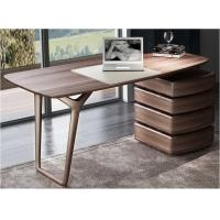 Buy cheap American Dark Walnut Wood Furniture Nordic design of Writing Desk Reading table in Home Study room Office Furniture product