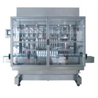 Buy cheap Full-automatic straight line type piston filling machine product