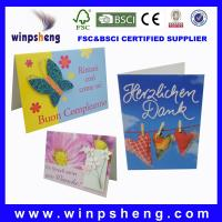 Buy cheap handmade decoration greeting card product