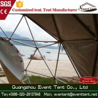 Buy cheap Tent for Beach uv Bake Finished Steel Pipes Round / Square Shaped Window Best Fitted from Wholesalers