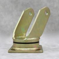Buy cheap 4 5 6 8 Inch Caster Wheel Accessories / Towing Plate Swivel Golden Caster from wholesalers