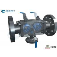 Quality Duplex Stainless Steel DBB Ball Valve , API 6D Trunnion Type Ball Valve for sale