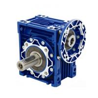China Right Angle NMRV Worm Gearbox Speed Reducer With Electric Motor on sale