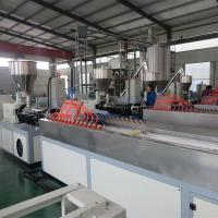 Stainless Steel Stand Column Profiles WPC Profile Machine WPC Profile Production Line