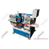 Buy cheap round wood cutter with double cutter head|hoe handle making machine for sale product