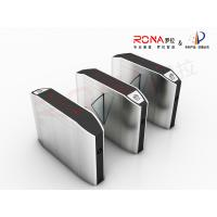 Buy cheap Indoor Automatic Flap Barrier Gate Self Checking For Intelligent Office Building product