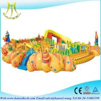 Buy cheap Hansel Big Inflatable Water Park Equipment, Giant Inflatable Water Games for Adult product