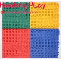 Buy cheap Superior Playground Floor Mats Suspended Sports Interlocking Low Maintainance product