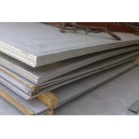 Buy cheap Thickness 3.0 - 16.0mm ASTM / ASME UNS S30408 Stainless Steel Plate Sheet for Pressure Vessel product