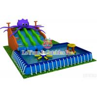 China Summer Season Metal Frame Pools For Outdoor Activity / Swimming / Water Fun on sale