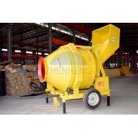 Buy cheap 18-20m3/h JZR500 Diesel Engine Reversing Drum Concrete Mixer product