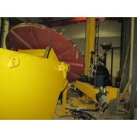 China 3 Ton Automatic Tilting Welding Positioner / Welding Turntable , High Efficiency on sale