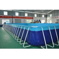 Buy cheap Sturdy Steel Sustain Swimming Pool For Water Storage Excellent Material product