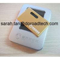 Buy cheap Metal Business Card USB Flash Drives product