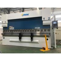 Buy cheap 200 Ton Automatic CNC Sheet Metal Press Brake Bending Machine DA52S High Precision product