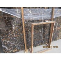 Buy cheap Afghanistan Black and Gold Marble Slab product