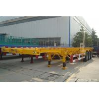Buy cheap 20 ft 40ft skeleton container semi trailer for sale - TITAN VEHICLE product