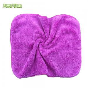 Buy cheap Colorful Easy Wash Microfiber Coral Fleece Cloth Super Absorption Microfiber Coral Fleece Cloth product
